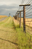 Remains of iron curtain. In south Moravia in the Czech Republic, symbol of the cold war and communism Stock Image