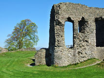 Remains of Kendal castle Royalty Free Stock Image