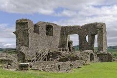 Kendal, england: Remains of Kendal castle. Remains of Kendal castle with spring morning sunlight, kendal, cumbria, england stock photos