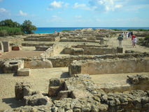 Remains of Kerkouane, Tunisia Royalty Free Stock Photography