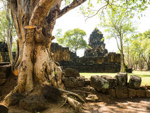 Remains of a Khmer Style building Stock Images