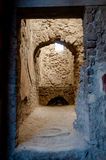 Remains of a kitchen in a house from Pompeii. Italy - Pompeii wa Royalty Free Stock Photos