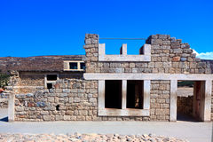 Remains Knossos Palace, Crete, Greece Royalty Free Stock Photo