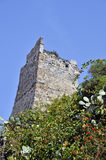 Remains of the Moorish castle of Almuñecar Stock Photography