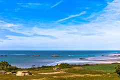 Remains of the Mulberry Harbour Royalty Free Stock Images