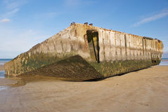 Remains of Mulberry Harbour Stock Photos