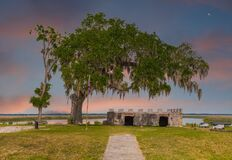 Remains Of Fort Frederica Royalty Free Stock Photography