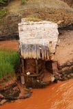 Remains of Old Bridge Royalty Free Stock Image
