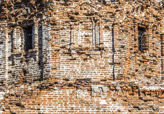 The remains of the old church Stock Photography