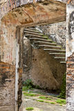 Remains of old house in ruins, Panama Royalty Free Stock Photography