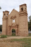 Remains of old Spanish church Royalty Free Stock Image