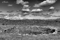 Pecos ruins royalty free stock photo