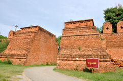Remains of the outer walls, Inwa Stock Photography
