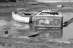 Remains of shipwreck Stock Photos