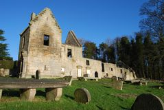 Remains of St. Bridgets Kirk Royalty Free Stock Images