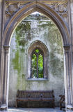 Remains of St. Dunstan-in-the-East Church in London Stock Images