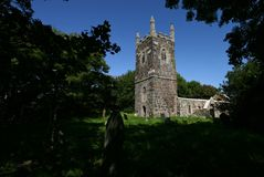 The remains of St Rumons Church Stock Photography