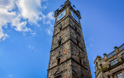 The remains of Tolbooth in Glasgow, Scotland Royalty Free Stock Photo