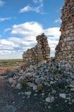Canyon Diablo ruins Royalty Free Stock Photography