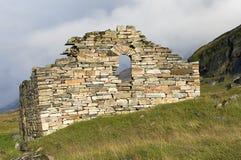 Remains of viking church Royalty Free Stock Image
