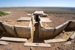 Remains of war Stock Photos