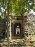 Wat Banan near Battambang, Cambodia. Remains of the Wat Banan Buddhist temple near Battambang, Cambodia stock images