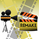 Remake movie Royalty Free Stock Photography