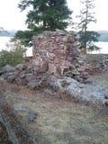 Remanente de la chimenea Imagen de archivo