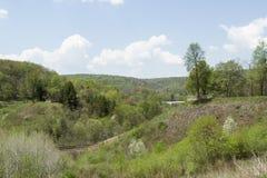 Remanente de la presa de South Fork Foto de archivo