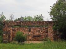 Remanente de un edificio Foto de archivo libre de regalías