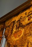 Remanente del muro de Berlín Imagen de archivo