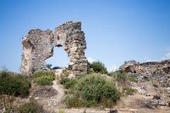 Remans de ville antique image libre de droits