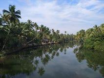 Remanso de Kerala Imágenes de archivo libres de regalías