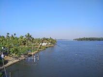 Remanso de Kerala Fotos de archivo libres de regalías