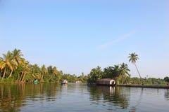 Remansos de Kerala Foto de archivo