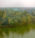 Remansos de Kerala Foto de archivo libre de regalías
