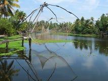 Remansos de Kerala, la India Foto de archivo libre de regalías