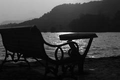 Remansos de la presa de Panshet Imagen de archivo
