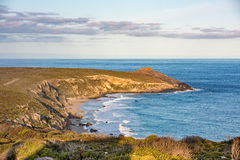 Remarcable rocks in south kangaroo island at sunset Royalty Free Stock Photography