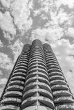 Remarkable cylindrical building Royalty Free Stock Photo