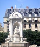 Remarkable monument in Paris Stock Photography