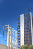 Remarkable Places Concepts and Ideas.Christ Cathedral Church Stock Images