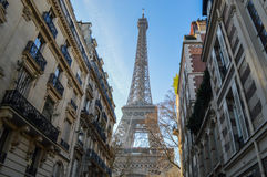 Remarkable places in Paris Stock Photography