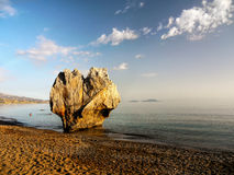 Remarkable Rock Formation Beach Coast Royalty Free Stock Photo