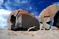 Remarkable Rocks. Formation of lava stones Remarkable Rocks in Kangaroo Island, Australia Royalty Free Stock Photos