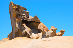 Remarkable rocks. View of a south australian seascape Royalty Free Stock Photography