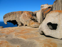 Remarkable Rocks. Unusual formations on the Kangaroo Island, Australia Stock Photo