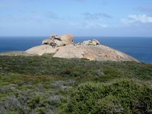 Remarkable rocks. On kangaroo island Stock Images