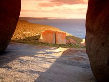 Remarkable Rocks. Kangaroo Island, South Australia Royalty Free Stock Photo