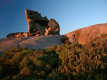 Remarkable Rocks. Kangaroo Island, South Australia Royalty Free Stock Image
